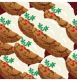 Christmas sweets Ginger Candy vector image