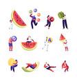 healthy lifestyle organic food choice set vector image