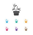 of gardening symbol on plant vector image
