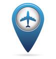 plane icon simple vector image vector image