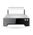 Printer vector image vector image