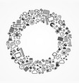 ring from set icons vector image vector image