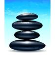 Spa zen stones vector image vector image