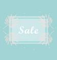 trendy sale banner design vector image vector image