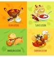 World Food Set vector image
