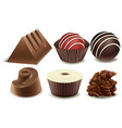 Chocolates vector image