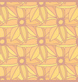 autumn flowers seamless pattern autumn background vector image vector image