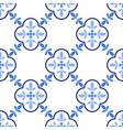 azulejos portuguese traditional ornamental tile vector image vector image