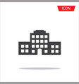 buildings icon city symbols vector image