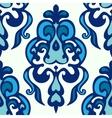 Damask ethnic floral pattern vector image