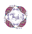 frame for text in the ethnic style of boho vector image vector image