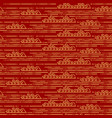 pattern seamless chinese traditional oriental vector image vector image