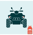 Quad bike icon vector image