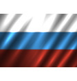 russia national flag background vector image