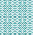 Blue Geometric Patterns vector image vector image