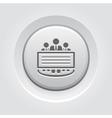 Company Profile Icon vector image vector image