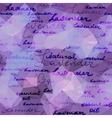Lavender violet background vector image