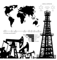Oil infographics vector image