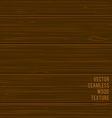 seamless wood texture vector image vector image