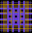 striped checkered tartan embroidery seamless vector image