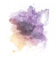 watercolour splatter vector image vector image