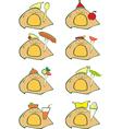 Animal Food Set vector image