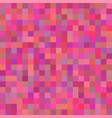background of art colored pink squares mosaic vector image