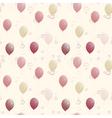 balloons seamless texture vector image