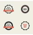 Big Sale Labels vector image vector image