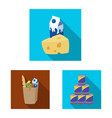 food and drink symbol vector image