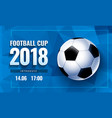 football world cup russia wallpaper color vector image