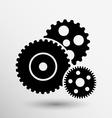 gear icon button logo symbol concept vector image vector image