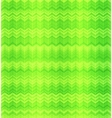 Green abstract zigzag textile seamless pattern vector image