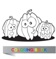 Halloween - coloring book vector image vector image