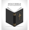 Holy bible book vector image vector image