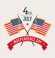 Independance Day Banner vector image vector image
