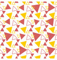 minimal pattern design with triangle vector image