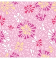 Pink abstract triangles seamless pattern vector image vector image
