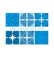 seamless pattern portuga vector image vector image