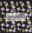 3d floral seamless pattern background texture vector image vector image