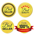 Best Seller Best Quality and Quality guaranteed vector image