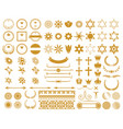 big set graphic design elements vector image vector image