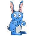 Blue Bunny vector image vector image