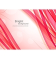 Bright pink background vector image vector image