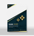 business modern flyer amp poster cover and asia vector image