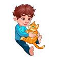 Children pet 1 vector image vector image