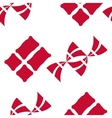 Danish flag seamless pattern vector image