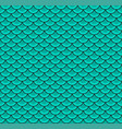 fish scales blue color seamless pattern vector image vector image