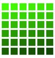green color palette vegetation grass vector image vector image