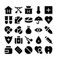 Health Icons 2 vector image vector image